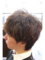 ディスパッチヘアー 甲子園店(DISPATCH HAIR)マッシュ系束間スタイル