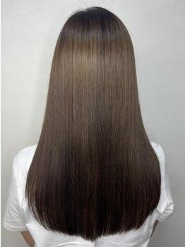モルニ(MORNI)の写真/【大阪梅田/3分】髪質改善TR¥12300♪本格ケアで柔らかい手触り&潤いを*自分史上最高な髪が叶う*