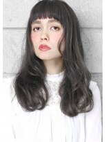 ヘアサロン ガリカ 表参道(hair salon Gallica)☆ グレージュ &オン眉 ☆ 外国人風ひし形シルエット小顔semi☆