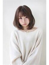 モッズヘア 藤岡店(mod's hair)ミディアムボブスタイル