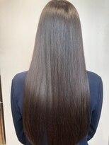 クロワ(croix)今、話題の髪質改善トリートメント☆ミネコラ☆セミロング