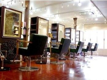 ヴェローグ シェ ブー(belog chez vous hair luxe)の写真/必見◆インテリアデザイナーが絶賛の内装!高いリピート率を誇る秘訣は豪華な設備と居心地にあり?