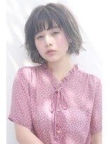 【Lafith】透明感たっぷり☆ショートボブスタイル