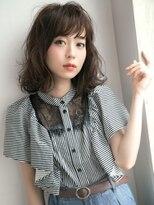 黒髪エアリーショート☆オン眉×ふわマッシュウルフ