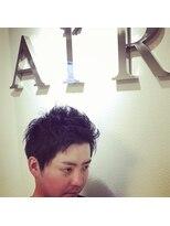 エアー(AIR)黒髪ショート