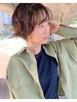 エイトヘアー(eight. hair)ショート*クシャパーマ