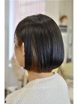 ヘアーデザイン キャンパス(hair design Campus)【ボブにも遊び心を♪】ツヤっとボブにスパイスインナー☆