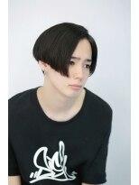 リップスヘアー 銀座(LIPPS hair)コナーマッシュ イメチェン オールバック 刈り上げ
