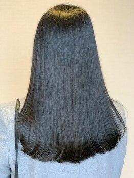 レキュップ(Lequipe)の写真/【万代】ストレスフリーな美しいストレートヘアに★クセをしっかり伸ばしつつ、柔らかくてまとまる髪へ♪