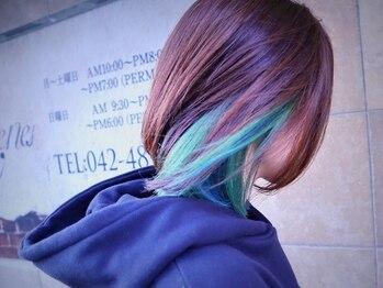 """ルネ(Rene)の写真/外国人のような透明感と艶を叶えてくれる話題の""""イルミナカラー""""取扱い☆通常カラーに+¥1000でお試しOK♪"""