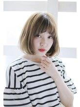 ルーシー 新宿(Lucy)【Lucy 新宿】マーメイドアッシュ外国人風ボブ