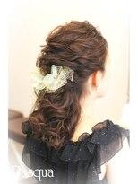 ヘアセットサロン パスクア(Hair Set Salon Pasqua)エアリーハーフダウン