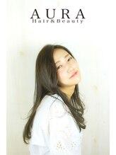 アウラ ヘアアンドビューティー(AURA HAIR & BEAUTY)毛先ワンカールで作る柔らかニュアンスヘアー
