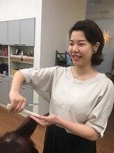美容室アンジュ イオン山形北店内(ange)佐藤 綾桂