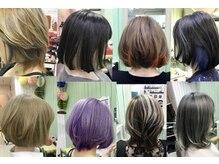 パワーオブヘアーセイカ(Power of Hair Seika)の雰囲気(インナーカラーやダブルカラーなど、オーダーメイドで楽しもう☆)
