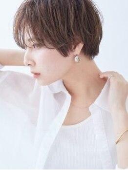 """カイノ イオンモール倉敷店(KAINO)の写真/厳しい基準をクリアしたstylistによる""""計算されたカット技術""""であなたの魅力を引き出す似合わせヘアに♪"""