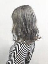 ソース ヘア アトリエ(Source hair atelier)【SOURCE】プラチナシルバーベージュ