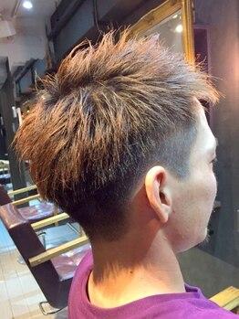 トランプ(Trump)の写真/王子公園駅すぐ★[メンズカット+シャンプー込¥3500]ON/OFF両方使える髪型に!清潔感のあるヘアで好感度UP♪
