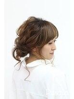 ヘアセットサロン パスクア(Hair Set Salon Pasqua)スプリングエアリールーズアップ
