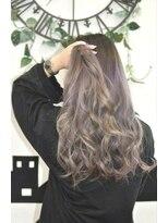 ヘアーサロン エール 原宿(hair salon ailes)(ailes 原宿)style394 フェザーロング☆パープルグラデーション