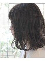 エヌ プラス(N+)【N+】ミディアムボブ×モノトーンアッシュ[藤沢/子連れ/個室]