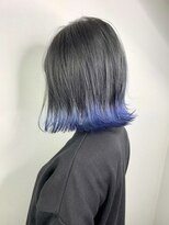 ソース 高槻(SOURCE)【SOURCE】ブルー裾カラー