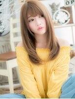 ■mod's越谷11-11★■色っぽかわいい♪小顔ハニーヘア