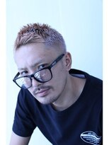 【M/BARBER/BASIC】ハイトーンワイルドショート
