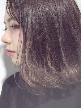 シエル(hair terrace Ciel)の写真/【土日は朝7時~&早朝料金なし】[Cut+イルミナカラー¥7900]話題のイルミナで光に溶けるような透明感へ★