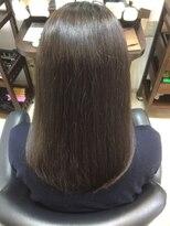 ヘアケアサロン シェーン(hair care salon Schon)上品な暗めグレージュカラー