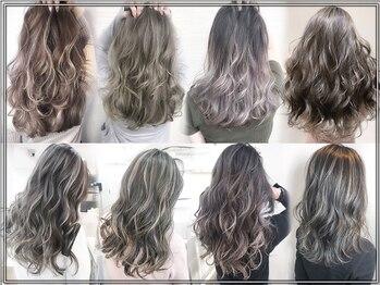 モードケイズ 茨木店(MOE K's)の写真/【19時まで受付◎】【カラー専任者在籍】艶感輝くキレイの法則。ボカす&隠すの技術で気になる白髪も◎