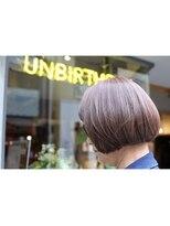 ストア バイ アンバースデー(Store by UNBIRTHDAY)なじませ透明グレイカラー