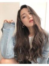 アリーズヘアー 心斎橋OPA(allys hair)ベビーエクステ[ボブ→ロング]→落合