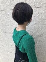ヘアーシー(HAIR C,)大人女子丸みショート