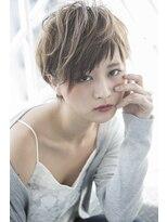 ワイルドショート【miel hair blanc】