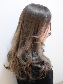 シエル(hair terrace Ciel)の写真/【平日限定☆】[Cut+水素トリートメントデジタルパーマ¥9000]ナチュラルな作りこみすぎない可愛さ◎