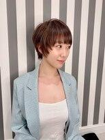 トキオプラチナ(TOKIO Platinum)マッシュショート×ウォームベージュ