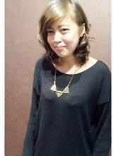 ドルチェ 新小岩店 (Hair design DOLCE)鎖骨ラインのミディアムレイヤー