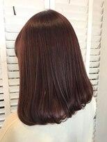 ヘアーアンドメイク ルシア 梅田茶屋町店(hair and make lucia)お洒落可愛いベリーピンク