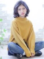 ペルシュ(perche)【人気スタイル☆】ミディアムボブのワンカールスタイル