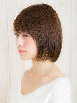 アトリエ モーリス ヘアー 小手指店(Atelier Morris Hair)の写真/【カラー+Tr¥5910】毎月染めてもダメージレス!オーガニックカラー&ダメージ軽減Trで艶カラーを実現♪