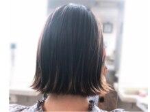 リモ ヘア デザイン(LiMO Hair Design)の雰囲気(LiMOの冬おすすめまろやかブルー!ミディアムスタイルと相性○!)