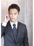 ☆ビジネスマン☆2ブロックショート