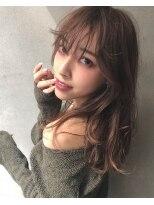 マージュ ギンザ(marju GINZA)ショコラグレージュ+シースルーバング