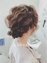 ガーデンヘアー(Garden hair)[GARDEN松岡]正面からも可愛い波打ちアレンジ