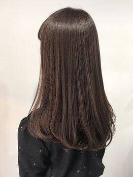 ユーレカ(Eureca)の写真/【女性から圧倒的な支持◎】髪に優しいダメージレスで、憧れのストレートをGET♪一味違う仕上がりを体感◆