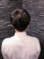 プレミアムバーバー 原宿店(PREMIUM BARBER produce by HIRO GINZA)ボリュームアップパーマ×ショートスタイル