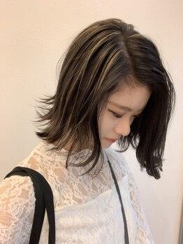 ヘアーアンドビューティジョウ(hair&beauty JOU)の写真/旬カラーでより可愛く綺麗な自分に♪1人1人の髪質に合わせて施術するからダメージレスでツヤ髪が叶う◎