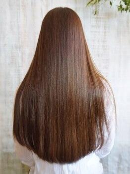 ラック成城(LUCK)の写真/最上級トリートメント《Aujua》取り扱い◎貴方に合わせたオーダーメイドTRで理想の髪質を叶えます♪