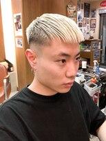 オムヘアーフォー(HOMME HAIR 4)ハイトーンクロップスキンフェード 【HOMME HAIR4 KENSHiRO】